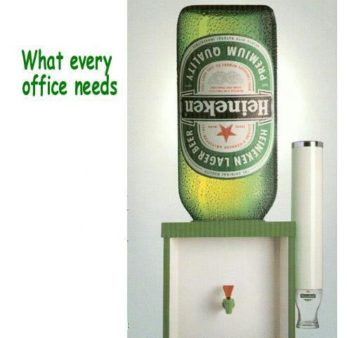Heineken Water Cooler